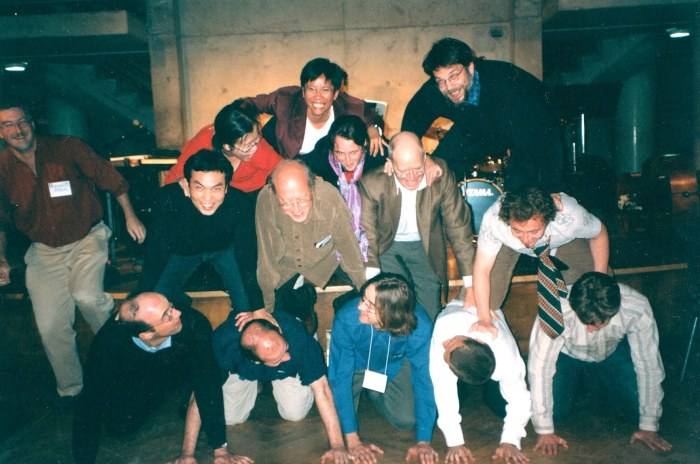 Human Pyramid at the 2005 CCSEAS Conference, York University, Toronto, Canada