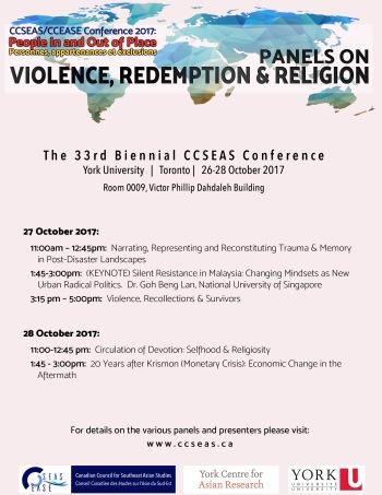 Violence, Redemption & Religion
